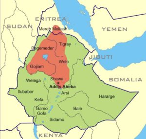 Eritrea in 9 minutes eritrea digest habesha abyssinia had an empire that expanded to include a much larger area but the map above shows its core which is the ethiopian plateau and the gumiabroncs Choice Image